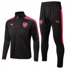 17-18 Arsenal Black Training suit (17-18 阿森纳黑色训练服)