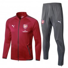 17-18 Arsenal Red Tracksuit (17-18阿森纳红色套装)