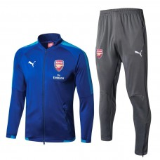 17-18 Arsenal Blue Tracksuit (17-18阿森纳蓝色套装)