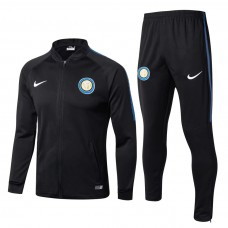 17-18 Inter Milan Black Tracksuit (17-18国米黑色套装)