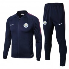 17-18 Manchester City Blue Training suit (17-18曼城蓝色训练服)