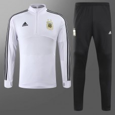 2018 World Cup Argentina White Training suit (2018世界杯阿根廷白色训练服)