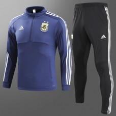 2018 World Cup Argentina Blue Training suit (2018世界杯阿根廷蓝色训练服)