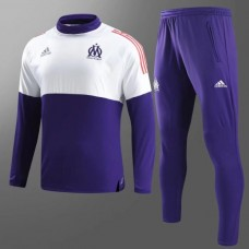 17-18 Marseille Purple Training suit (17-18马赛紫色训练服)