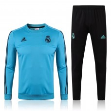 17-18 Real Madrid Round Neck Training suit (17-18皇马圆领训练服)