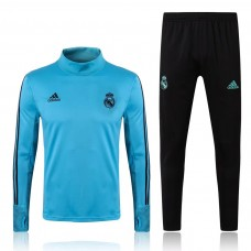 17-18 Real Madrid High Neck Training suit (17-18皇马高领训练服)