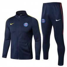 17-18 PSG High Neck Training suit (17-18巴黎高领训练服)