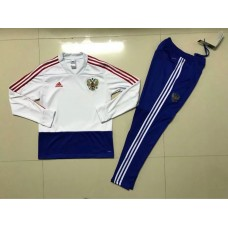 17-18 Russia White Training suit (17-18俄罗斯白色训练服)