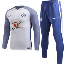 17-18 Chelsea Player Version White Training suit (17-18切尔西球员白色训练服)