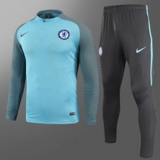 17-18 Chelsea Player Version Blue Training suit (17-18切尔西球员蓝色训练服)