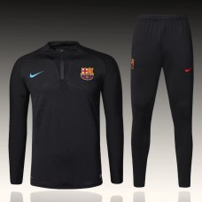 17-18 Barcelona Player Version Black Training suit (17-18巴萨球员黑色训练服)