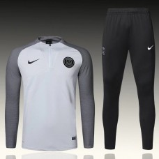 17-18 PSG Player Version White Training suit (17-18巴黎球员白色训练服)