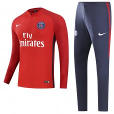 17-18 PSG Player Version Red Training suit (17-18巴黎球员红色训练服)