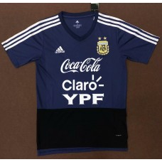 18-19 Argentina Blue Training T-shirt (18-19 阿根廷宝蓝色训练T恤)