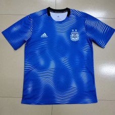 18-19 Argentina Training T-shirt (18-19 阿根廷蓝色训练T恤)