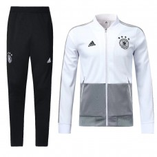 2018 World Cup Germany White Tracksuit (2018世界杯德国白色套装)