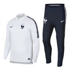 17-18 France White Training suit (17-18法国白色训练服)
