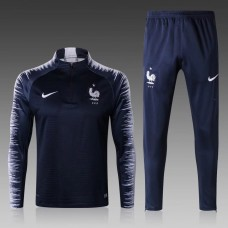 2018 World Cup France Blue Training suit (2018世界杯法国蓝色训练服)