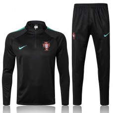2018 World Cup Portugal Black Training suit (2018世界杯葡萄牙黑色训练服)
