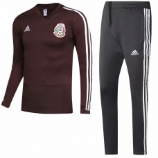 2018 World Cup Mexico Red Training suit (2018世界杯墨西哥红色训练服)