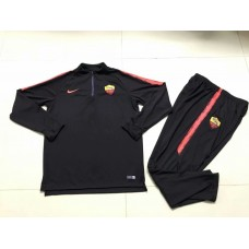18-19 Roma Black Training suit (18-19罗马黑色训练服)