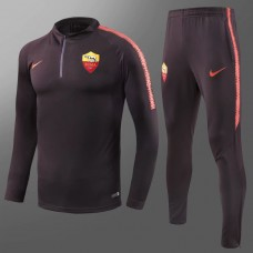 18-19 Roma Deep Red Training suit (18-19罗马深红色训练服)