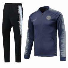 18-19 Inter Milan Navy Blue Zipper Training suit (18-19国米蓝色拉链训练服)