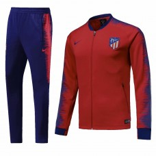 18-19 Atlético de Madrid Red Zipper Training suit (18-19马竞红色拉链训练服)