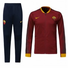 18-19 Roma Red Zipper Training suit (18-19罗马红色拉链训练服)