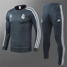 18-19 Real Madrid Training suit (18-19皇马灰绿色训练服)
