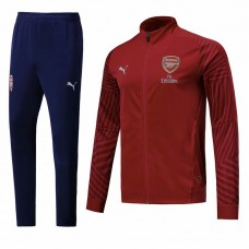 18-19 Arsenal Red Zipper Training suit (18-19阿森纳红色拉链训练服)