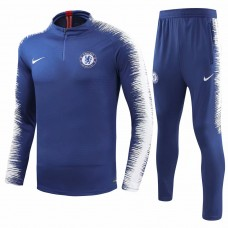 18-19 Chelsea Blue Training suit (18-19切尔西蓝色训练服)