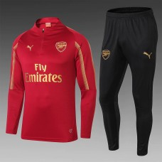 18-19 Arsenal Red Training Suit (18-19阿森纳红色训练服)