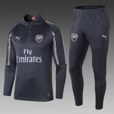 18-19 Arsenal Black Training Suit (18-19阿森纳黑色训练服)