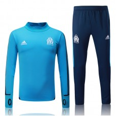 17-18 Marseille Blue Training suit(17-18马赛蓝色训练服)