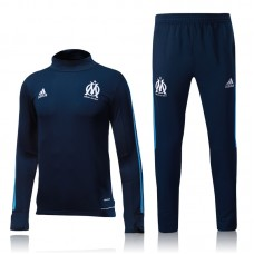 17-18 Marseille Blue Training suit(17-18马赛深蓝色训练服)