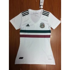 17-18 Mexico White Away Women's Jersey (17-18 墨西哥白色客场女装)