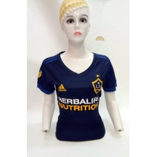 17-18 LA Galaxy Away Women's Jersey (17-18 银河客场女装)