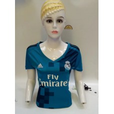 17-18 Real Madrid Third Women's Jersey (17-18 皇马二客场女装)
