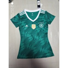 2018 World Cup Germany Away Green Women's Jersey (2018世界杯德国客场绿色女装)