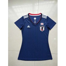 2018 World Cup Japan Home Blue Women's Jersey (2018世界杯日本主场蓝色女装)
