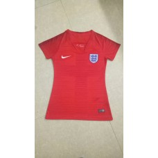2018 World Cup England Away Red Women's Jersey (2018世界杯英格兰客场红色女装)
