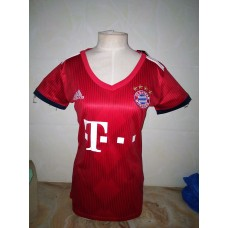 18-19 Bayern Home Red Women's Jersey (18-19拜仁主场红色女装)