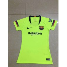 18-19 Barcelona Away Green Women's Jersey (18-19巴萨客场绿色女装)