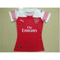 18-19 Arsenal Home Red Women's Jersey (18-19阿森纳主场红色女装)