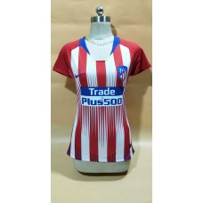 18-19 Atlético de Madrid Home Red Women's Jersey (18-19马竞主场红色女装)