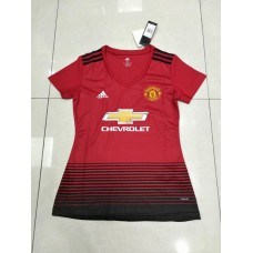 18-19 Manchester United Home Red Women's Jersey (18-19曼联主场红色女装)
