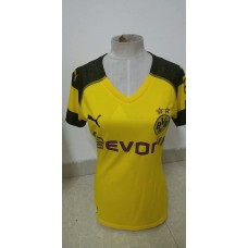 18-19 Dortmund Home Yellow Women's Jersey (18-19多特主场黄色女装)