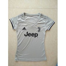 18-19 Juventus Away Grey Women's Jersey (18-19尤文客场灰色女装)