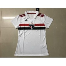 18-19 Sao Paulo Home White Women's Jersey (18-19圣保罗主场白色女装)